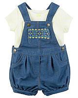 """Трикотажный комплект одежды для девочки Carters """"Весёлое лето"""""""