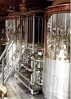 Работы и услуги по организации пивоваренного производства.