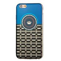 Силиконовый чехол Joyroom Fuhua Series Crown для IPhone 6/6s