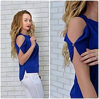 Блузка женская, модель 901, синий