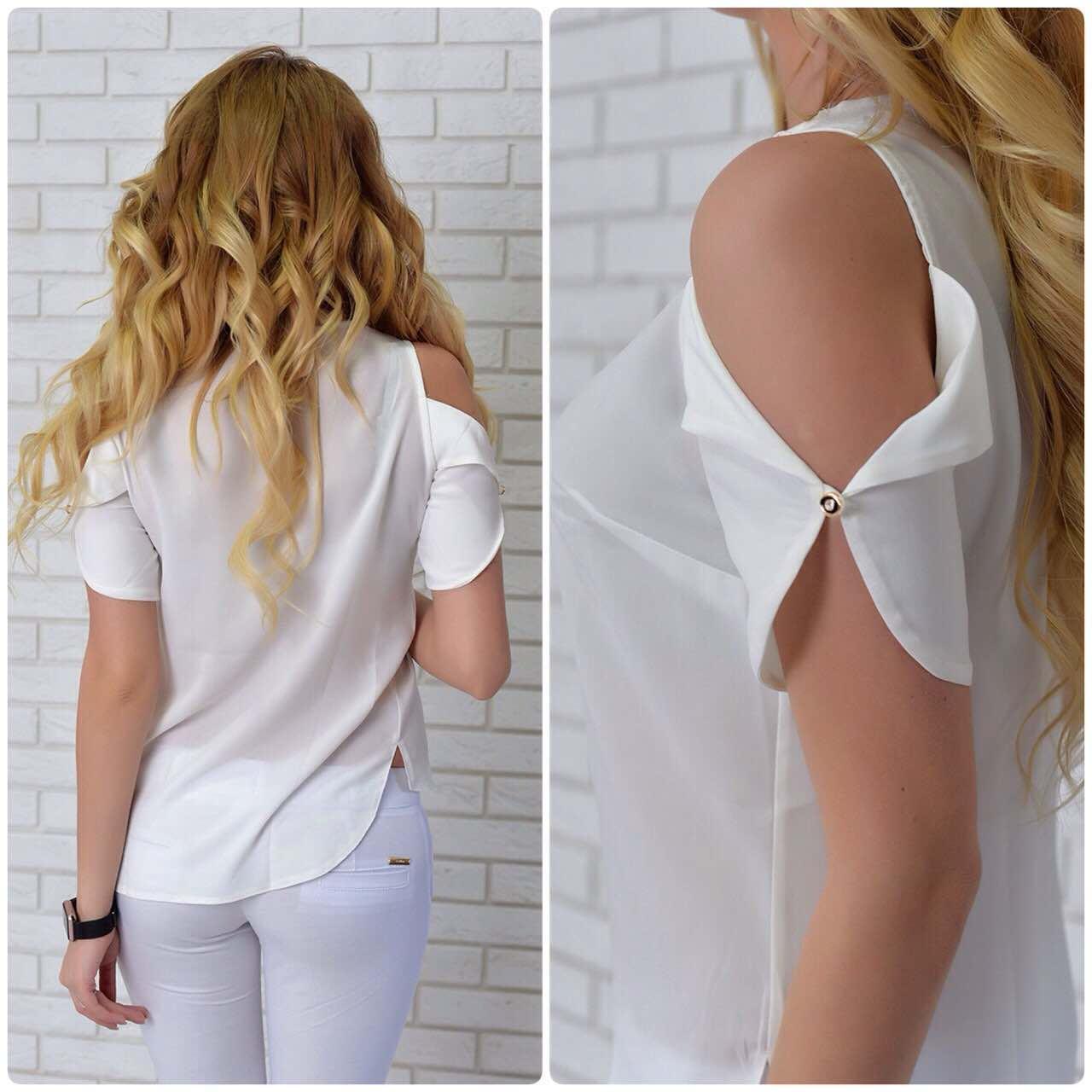 Блузка женская, модель 901, молочный