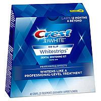Отбеливающие полоски для зубов Crest 3D White Professional Effects. Упаковка 20 стикеров из США
