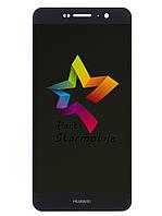Дисплей для мобильного телефона Huawei Y6 Pro/Enjoy 5, черный, с тачскрином, ORIG
