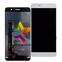 Дисплей для мобильного телефона Huawei Y6 Pro/Enjoy 5, белый, с тачскрином, ORIG
