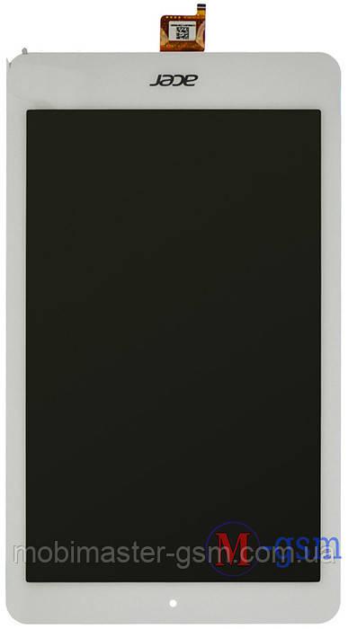 Дисплейный модуль Acer Iconia One B1-820 белый