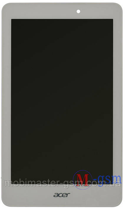 Дисплейный модуль Acer Iconia Tab A1-840 FHD белый + рамка