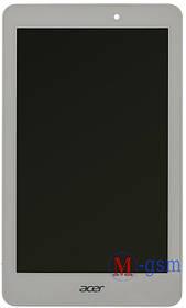 Дисплейный модуль Acer Iconia Tab A1-840FHD белый + рамка
