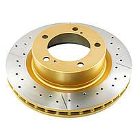 Диск тормозной передний DBA 2734X X-GOLD  для Toyota HIGHLANDER