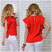 Блузка нарядная, модель 902, красный, фото 1