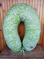 Подушка для беременных и кормления For Kids. Зеленый поплин.