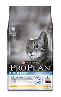 [ ProPlan Cat Houseсat 10 кг для котів ] Корм Про План з куркою та рисом