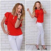 Блузка нарядная, модель 902/2, красный