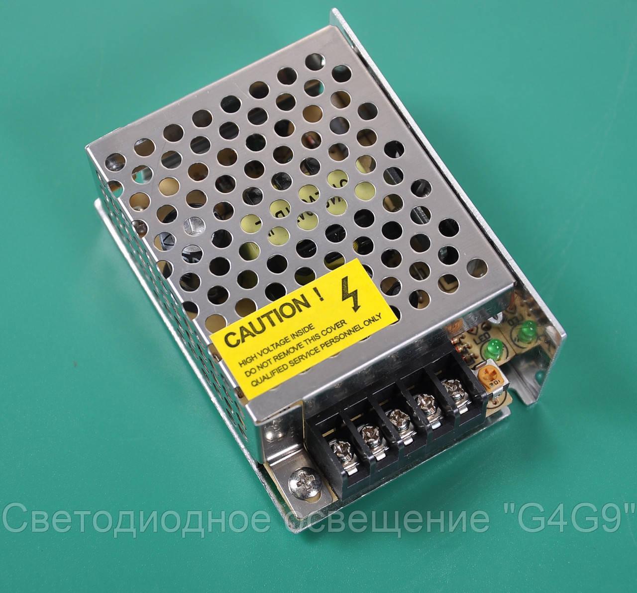 Драйвер светодиодный  (токовый трансформатор) 25 Вт 220В/12В IP20