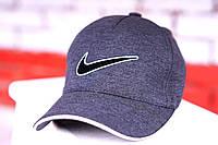 Кепка мужская, летняя, весенняя. Серый Nike