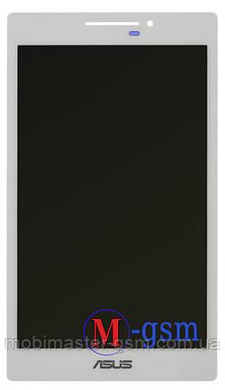 Дисплейный модуль Asus ZenPad C 7.0 Z370 белый, фото 2