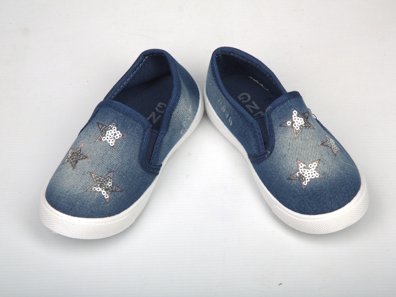 Детские мокасины джинсовые (Код: В-60)