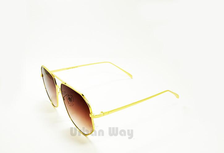 Солнцезащитные очки в золотой оправе Gentle Monster - Интернет - магазин