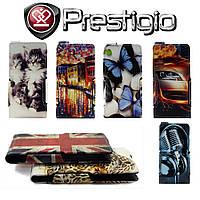 Чехол Print-Case для Prestigio Multiphone 5450 Duo