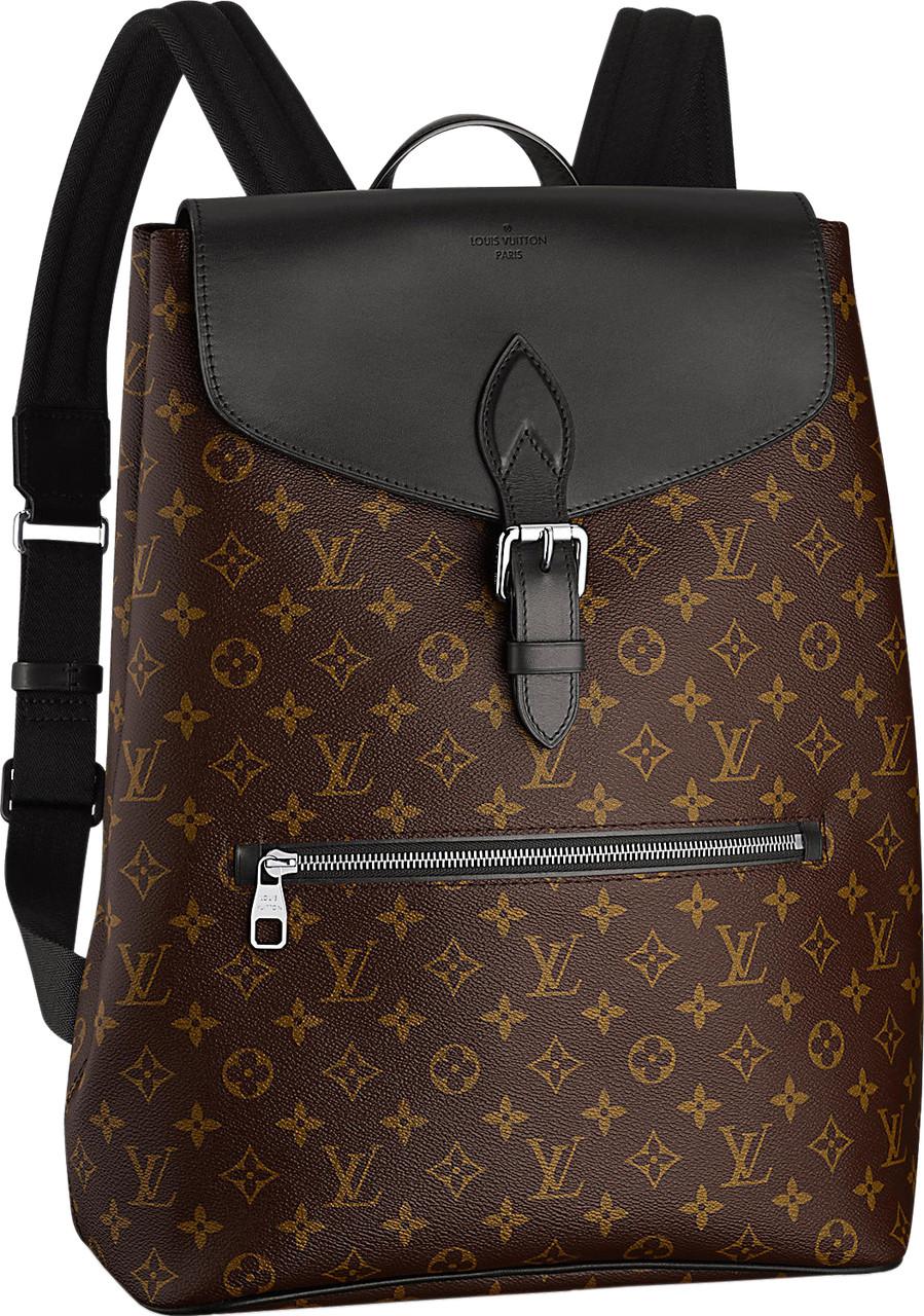 Городской рюкзак Louis Vuitton Lv318, коричневый 21 л