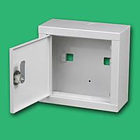Шкаф ШМР-1ф-8А-Н э распределительный металлический под 1фазный электронный счетчик и 8 автоматически