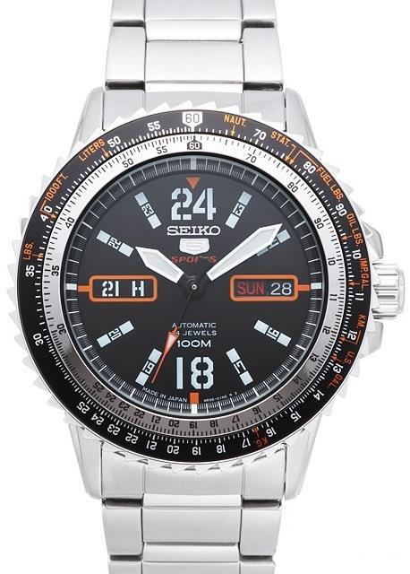 Часы Seiko 5 Sports SRP347J1 Automatic 4R36