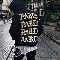 Худи с принтом I Feel Like Pablo