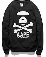 Свитшот с принтом Bape By A Bathing Ape