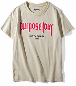 Футболка мужская Purpose Four с принтом Justin Bieber