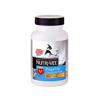 Паппи-вит комплекс витаминов и минералов для щенков до 9 месяцев 60 таблеток НУТРИ-ВЕТ / Puppy-Vite Nutri-Vet