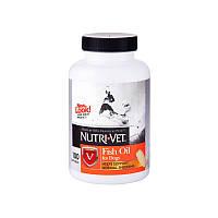 Рыбий жир добавка для шерсти собак 100 капсул НУТРИ-ВЕТ / Fish Oil Nutri-Vet