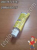 Жидкий высокотемпературный клей - герметик для стекол духовки плиты, камина, котла и др. , фото 1