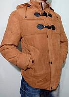 Куртка пуховик на холлофайбере мужская зимняя 2016-17