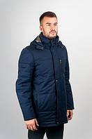 Куртка мужская с капюшоном №245M026 (Синий)