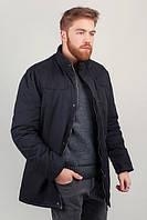 Куртка мужская зимняя на меху №225KF095 (Черный)