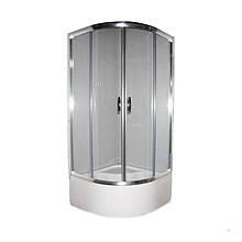 Душова кабіна Devit FEN311DEV NYMFA + високий піддон 400мм /900x900x2115