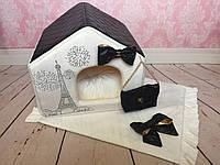 Домик Париж с ковриком