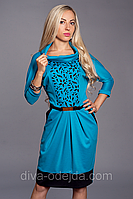 Модное платье ANGELINA 441-5.Размеры 50,52 Код:508007654