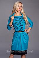 Модное платье ANGELINA 441-5.Размеры 50,52
