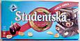 Черный шоколад Studentska с арахисом, желе и изюмом, 180 гр., фото 2
