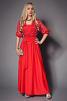 Гипюровое платье ANGELINA в пол.44-46 46-48