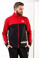 Спортивный костюм 231024 (Красный/Черный)