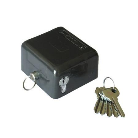 Замок навісний Тандем ВС-2 3 ключа AL