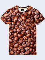 Футболка Зерна кофе (Размер L)