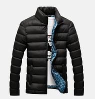 Зимние мужские куртки черная размер 2ХL, 3ХL