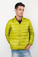 Куртка мужская, ветровка стеганая №225KF048 (Киви)