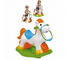 Лошадка Feber Pony 3 в 1 качалка, велобег, толкатель