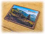 """Дерев'яна яний магнітик на холодильник """"Карпати"""" - 1, фото 2"""