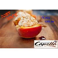 Ароматизатор Capella Peach  & Cream (Персиковый Крем)- Capella