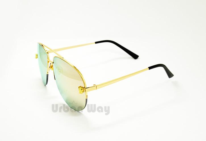f804e7476992 Женские солнцезащитные очки зеркальные Gentle Monster - Интернет - магазин