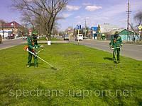 Покосить траву, покос травы Киев.Уборка участка.